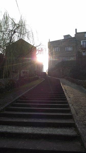 Escalier dans Montrevault