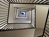 Escalier du Beffroi de Montrouge, France.JPG