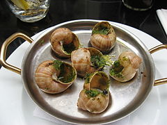 Escargots, Paris 17 July 2010.jpg