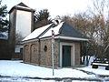 Esch-Auweiler, Wegekapelle Beatae Mariae Virginis; mit Spritzenhaus.JPG