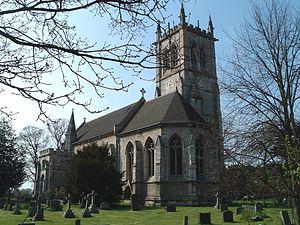 Escrick - The church at Escrick