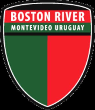 Boston River - Image: Escudo Boston River