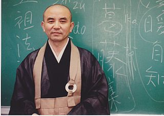 Japanese Buddhist priest