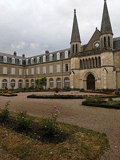Espace Bernadette Soubirous Nevers church located in Nièvre, in France