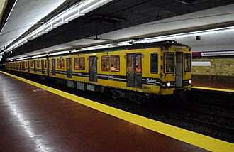 Line E (Buenos Aires Underground) - CAF-GEE rolling stock