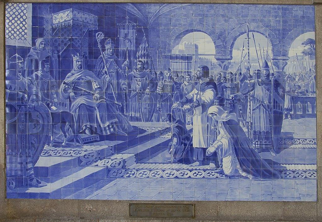 Azulejos de la gare de São Bento, à Porto.  (définition réelle 3539×2442)