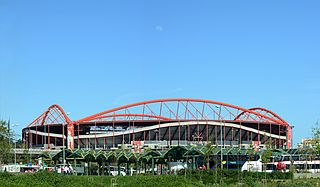 Estádio da Luz S.L. Benfica football stadium in Lisbon, Portugal