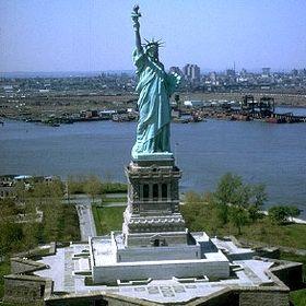 Statue de la Liberté.