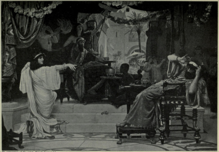 Esther denouncing Haman by Ernest Normand.png