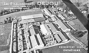 Arpajon-sur-Cère - The Dejou factory