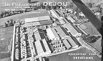 Arpajon-sur-Cère - The Dejou factory
