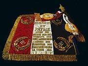 Etendard du 11e régiment d'artillerie de marine