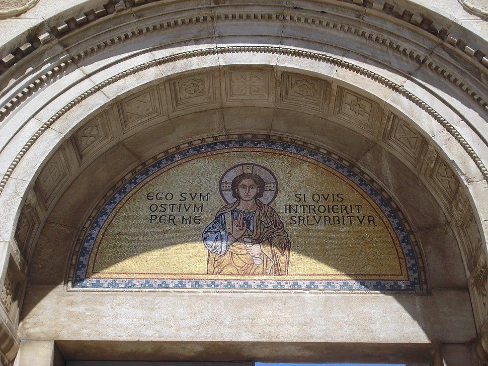 Eufrazijeva bazilika - ulazni natpis