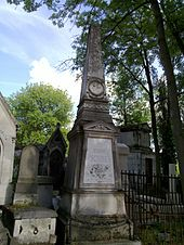 Scribe's grave at the Père-Lachaise Cemetery, (Paris) (Source: Wikimedia)