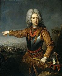 Jacob van Schuppen: Prinz Eugen von Savoyen nach der Schlacht von Belgrad am 16. August 1717