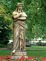 Euterpe the Muse, St George's Gardens, London.JPG