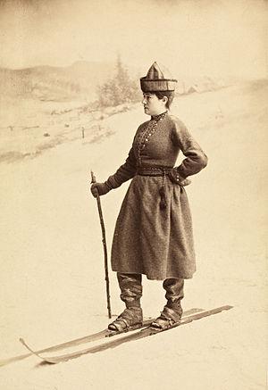 Eva Nansen - Eva Nansen, 1889