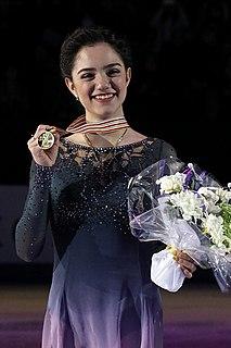 Evgenia Medvedeva Armenian-Russian figure skater