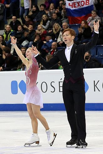 Evgenia Tarasova - Tarasova and Morozov at the 2016 European Championships.