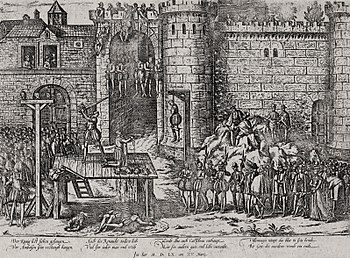 Execution of the Amboise conspirators