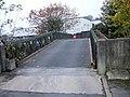 Exit bridge from Tesco's car park, Bridgend - geograph.org.uk - 1692161.jpg