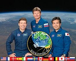 Michael Barratt, Gennady Padalka, Koichi Wakata