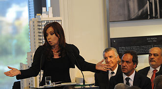 Renationalization of YPF - President Cristina Fernández de Kirchner announces the bill to renationalize YPF.