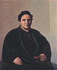 Portrait of Gertrude Stein