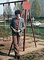 Férfi portré, 1982. Fortepan 6820.jpg