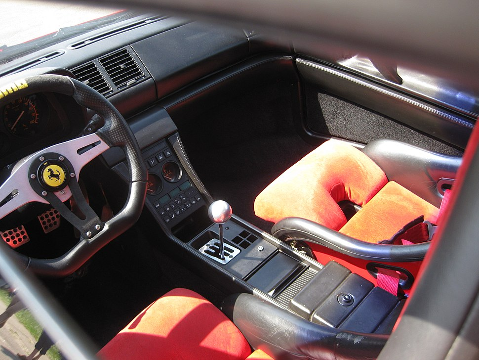 F348tb Challenge Cockpit
