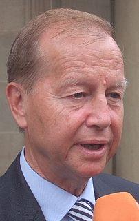 Friedrich Bohl former head of German Chancellory