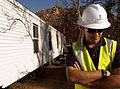 FEMA - 33781 - FEMA Technical Assistance Coordinator at a mobile home site in California.jpg