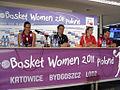 FIBA EuroBasket Women 2011 Latvia George Dikeoulakos Liene Jansone.jpg