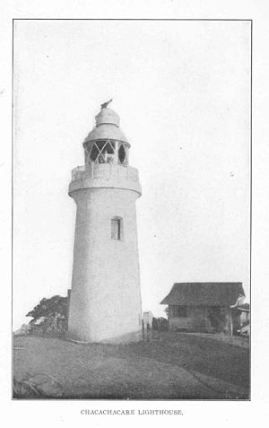 Chacachacare - Chacachacare Lighthouse in 1910