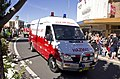 FRNSW HAZMAT Unit in the SunRice Festival parade in Pine Ave.jpg