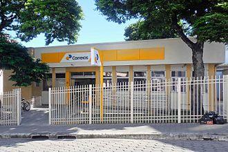 Correios - An ordinary post office at Coronel Fabriciano, Minas Gerais.