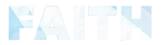 Logo del disco Faith