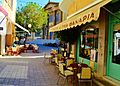 Faneromeni Square treia fanaria bakery Nicosia Republic of Cyprus early morning Nicosia April 2015.jpg