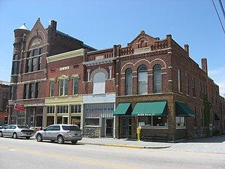 Farmland Downtown Historic District