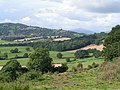 Farmland and mountain view from Orcop hill - geograph.org.uk - 958141.jpg