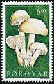 Faroe stamp 305 hygrocybe virginiae.jpg