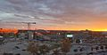 Faurot Field sunset skyline.jpg