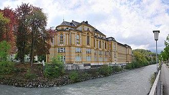 Joseph Fischer (cartographer) - The former Stella Matutina, Fischer's home institution, now an Austrian cultural monument.