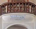Feldkirchen Waiern Martin-Luther-Straße 4 evangelische Pfarrkirche A.B. Orgelempore 20072019 6859.jpg