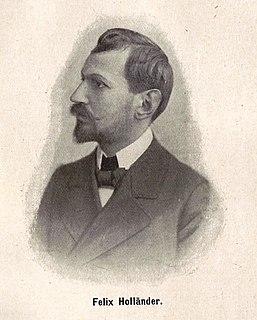 Felix Hollaender German writer