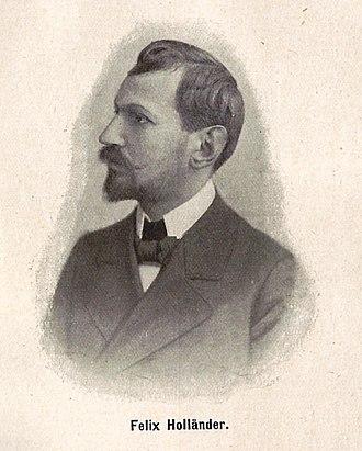 Felix Hollaender - Image: Felix Hollaender 2