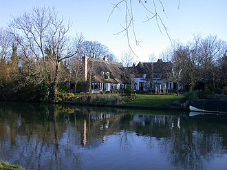 Fen Ditton - Image: Fen Ditton from River Cam