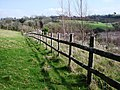 Fence, Galmpton Creek - geograph.org.uk - 368807.jpg