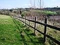 Fence, Galmpton Creek - geograph.org.uk - 368807.jpg