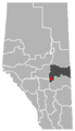 Ferintosh, Alberta Location.png